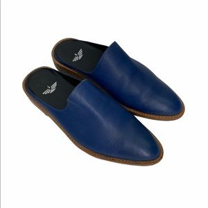 Fortress Of Inca Adra Leather Slip On Mules $240